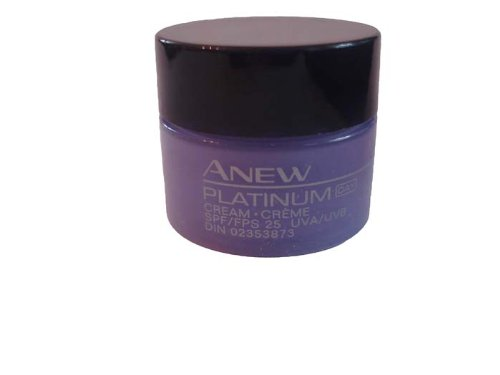 Avon Platinum Day Cream - Try It Size - .25 oz