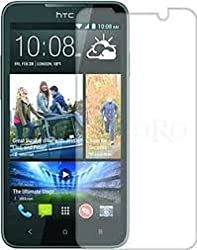 MVTH Brand Clear Tempered Glass Screen Protector for HTC 516