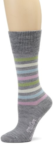Buy Low Price DeFeet Women's Milan-Lt. Grey Wool Sock (MILGRY101-P)