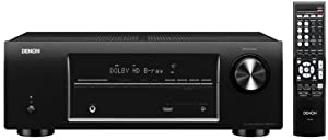 Denon AVR-1513 5.1 Channel 3D Pass Through Home Theater AV Receiver (Discontinued by Manufacturer)