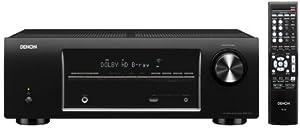 Denon AVR-1513 5.1 Channel 3D Pass Through Home Theater AV Receiver