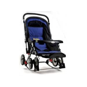 BABY PRAM WITH ROCKER | BLUE