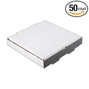 star pizza box pb9wk 9 white brown pizza box 50 cs industrial scientific. Black Bedroom Furniture Sets. Home Design Ideas