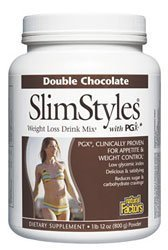"Slimstyles Pgx ""Double Chocolate"" By Natural Factors - 1.75 Lbs"