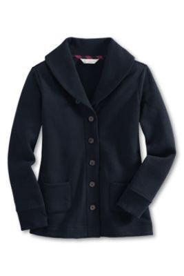 Girls' Cosy Sweatshirt Cardigan