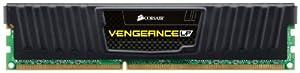 Corsair Vengeance 8GB (1 x 8GB) DDR3 1600 MHz (PC3 12800) Desktop Memory CML8GX3M1A1600C9