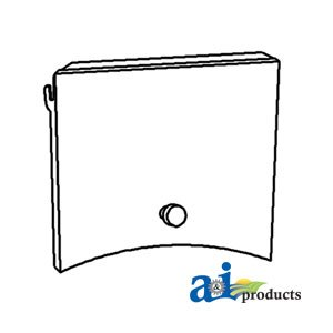 A & I Products Battery Door Cover Replacement For John Deere Part Number At20026