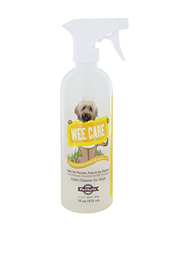 Petsafe wee care enzyme cleaning solution for Indoor dog bathroom solutions