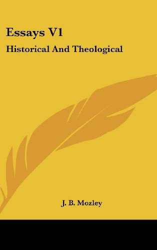 Essays V1: Historical and Theological