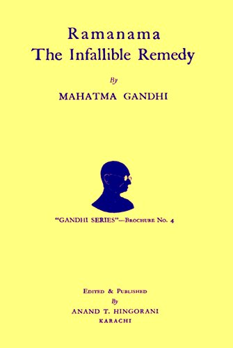 Ramanama The Infallible Remedy : by Mahatma Gandhi image