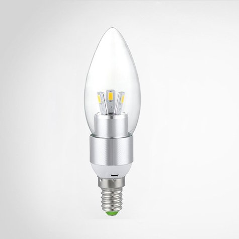 Alytimes E12 Replacement Decor Electric Led Candle Bulbs