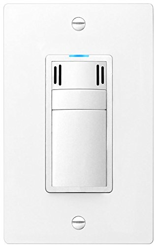 DewStop FS-300-W1 Adjustable Bathroom Fan Control Switch, White (Humidity Switch Sensor compare prices)