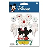 12 Pack DISNEY 3D STIX FIREWORK MICKEY Papercraft, Scrapbooking (Source Book)