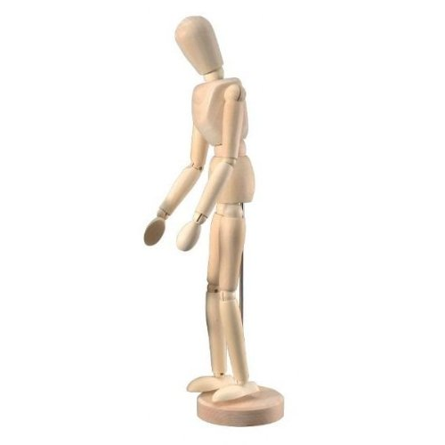 """Human ARTIST MODEL - 12"""" inch - Drawing Mannequin Body"""