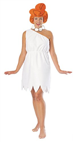 Rubies Womens Wilma Flintstone Anim Theme Party Fancy Halloween Cartoon Costume