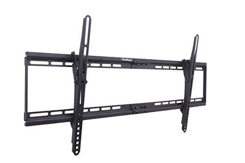 Best Price VonHaus 05/023X Wall Mount TV Bracket with Tilt/32-65, Black