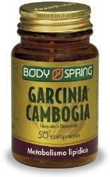 Body Spring Integratore Alimentare per il Peso Garcinia Cambogia - 50 Compresse