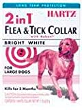 "Ultraguard Flea and Tick Large Dog Collar 26"" - White"