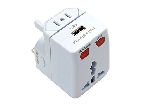 Nomadic-Trader-JT-2003-W-All-in-One-Travel-Adapter-with-USB-Charger-White