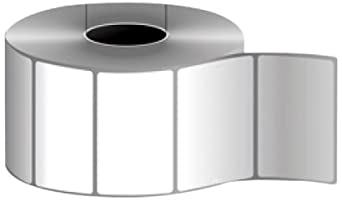 """RDT3020AP 3 """"x 2"""" etiquetas térmicas directas en un núcleo de 3"""