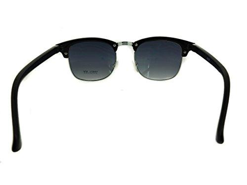 Designer Inspired Classic Half Frame Horned Rim Wayfarer ...