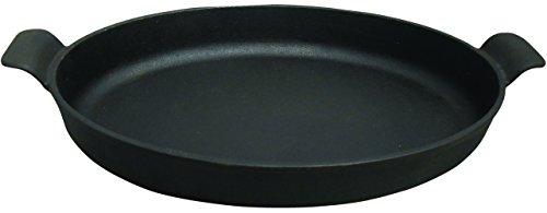 King Kooker CIOR14S Pre-Seasoned Cast Iron Oval Roasting Pan (Roasting Pan 14 Inch compare prices)