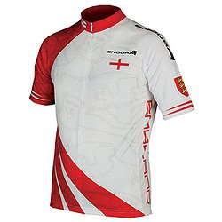 Buy Low Price ENDURA Endura CoolMax Printed Jersey 2012 2X-Large England (EP0003/7)