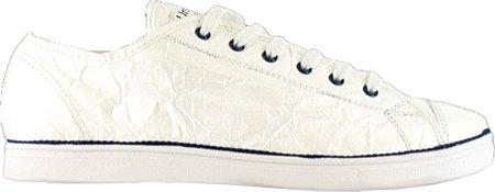 Unstitched Utilities Men's Next Day Fashion Sneaker,White/Navy,11 M US
