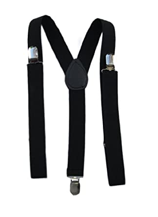 Low Price Mens / Womens One Size Suspenders Adjustable – (Various Neon Colors)