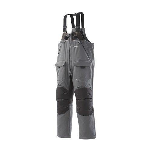 Frabill I2 Bib, Dark Grey, Medium (Steel Leader Ice Fishing Gear compare prices)