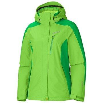 Marmot Damen Skijacke Palisades, GreenEnvy/Leaf, Gr M, 35750-4052-4