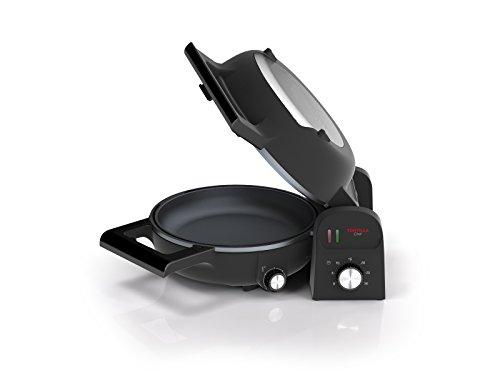 Princess 01.118000.01.001 Twist & Turn Tortilla Chef Technologie Double Surface de Cuisson Noir