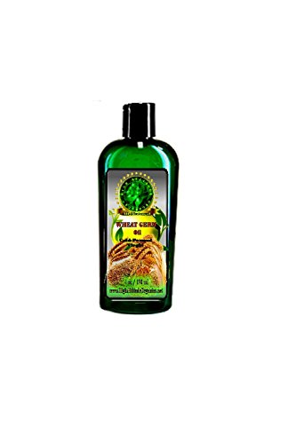 100% Pure Wheat Germ Oil Virgin, Unrefined, Cold-Pressed - Richest Sources Of Vitamin E, A And D, Lecithin And Beta Carotene - 4Oz - By High Altitude Organics