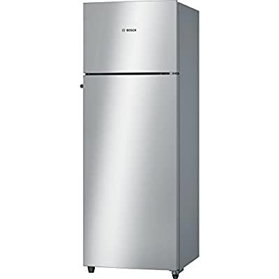 Bosch KDN30VS20I Frost-free Double-door Refrigerator (288 Ltrs, 2 Star Rating, Silver)