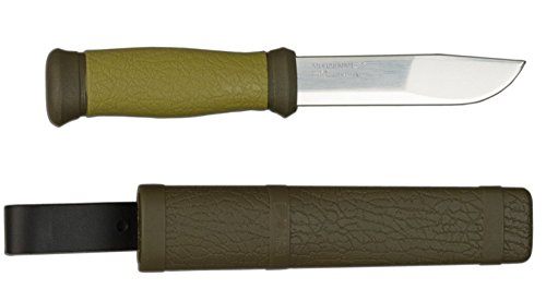 Mora 2000 Fixed 4.29in. Blade w/ Forest Green Handle