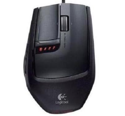 LOGICOOLレーザーマウス 超高精度ゲーミンググレードレーザーエンジン搭載 G-9x