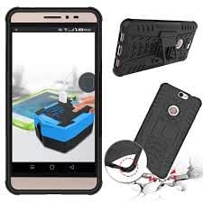 Coolpad Max Back Cover Kickstand Case For Coolpad Max Back Cover (Black) By First 4