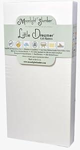 Moonlight Slumber Little Dreamer Dual Firmness All Foam Crib Mattress