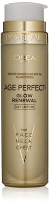 LOreal Paris Age Perfect Glow Renewal SPF 30 Lotion 1.7
