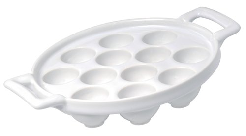 Belle Cuisine Porcelaine Escargot Plate