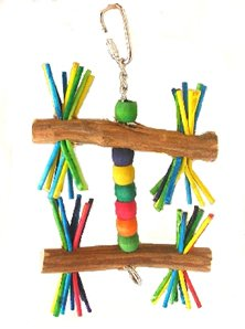 Cheap Stick Twirl 4in x 7in Small Bird Toy (B000ENGOSA)