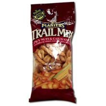Kraft Planters Spicy Nuts and Cajun Sticks Trail Mix, 2 Ounce -- 72 per case.