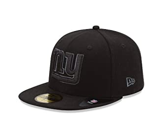 NFL New York Giants Black & Gray Basic 5950 Fitted Cap by New Era