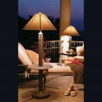 Patio Living Concepts Catalina Floor Lamps with Tables - 66 â 28662