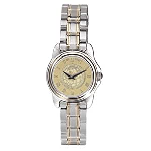 Penn State University - Ladies Two Tone Stainless Steel Watch - Gold by Alumni Gift