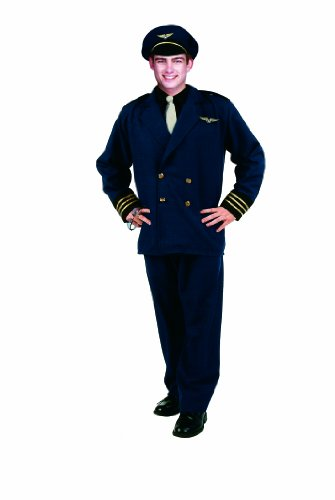 3 Piece. Flight Captain Costume