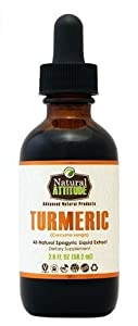 Natural Attitude Turmeric Liquid Extract 2 Fl. Oz.