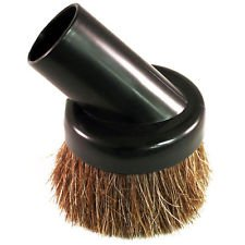 "Dirt Devil Vacuum Attachments - High Quality Universal Soft Horsehair Bristle Vacuum Cleaner Dust Brush. Fits All Vacuum Brands Accepting 1 1/4"" Inner Diameter Attachments Such As Hoover, Bissell, Eureka, Royal, Dirt Devil, Koblenz, Kirby, Rainbow, Tristar, Kenmore, Oreck, Electrolux, Panasonic, Shop Vac, Ridgid, Craftsman, Beam, Vacuflo, Vacumaide, Cen-tec, Proteam, Evolution, Cirrus, Sanitaire. Will Fit Many More Brands and Models but You Must Measure and Confirm Before Purchasing. These Are Not Button Lock Attachments. The Style of Tool You Receive May Vary Depending on Stock."
