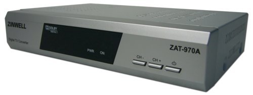 New Zinwell ZAT-970A Digital to Analog TV Converter Box (for Antenna Use)