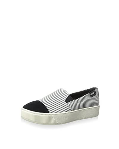 PUMA Women's Extreme Slip-On Blocks and Stripes Sneaker